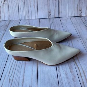 Authentic Zara Wedge Mules